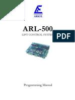 Arl-500 Programming Manual v19