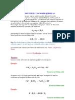ajuste ecuaciones