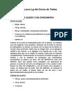Curso Completo de Tartas Curso de Tartas Clã_sicas, Contemporaneas y Modernas Del Chef Juan Alberto Hernandez Montes Apuntes Laura Lg (1)