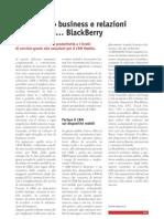 Con Siseco business e relazioni a portata di… BlackBerry