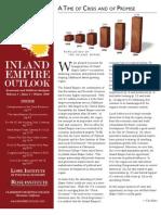 Inland Empire Outlook - Winter 2010