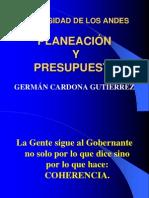 PLANEACIÓN Y PRESUPUESTO.  ABOGADO, ADMINISTRADOR DE EMPRESAS, ASESOR, CONSULTOR LITIGANTE. INOCENCIO MELENDEZ.ppt