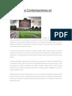Arquitectura Contemporanea de Mexico de Calos Aldair Guzman Mendoza