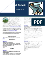 Calvin Ball Bulletin - October 2014 Legislation Edition