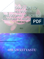 Lecture 2 Philosophy of Science