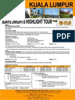 3d Kuala Lumpur Highlight Tour
