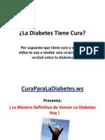 ¿Hay Cura Para La Diabetes? Sorprendente Revelación Sobre Como Revertir La Diabetes
