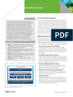 Vmware Vcloud Automation Center Datasheet