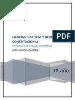 Unidad i Nocion de Ciencia Politica