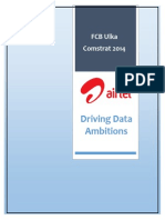 Airtel Driving Data Ambitions 15.09.2014