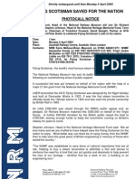 National railway Museum Flying Scotsman Press Release