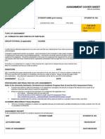 Assignment A1 Dynamics 2013v1