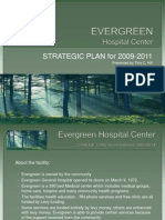 EVERGREEN Hospital Center Strategic Plan Presentation