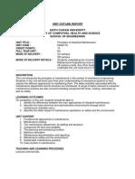 Unit Outline [ENS2170]