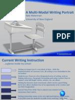 a multi-modal writing portrait