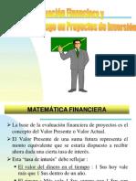 Conceptos Financieros de Proyectos Inversion