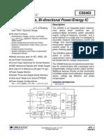 Energy Measurment IC