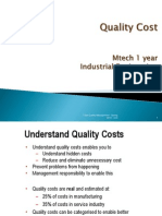 quality cost