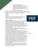 Centros y Redes de Investigación Asociadas Al PNFI