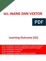 TM 05 Sel Inang Dan Vektor Kloning (Biologi Molekuler 2014)