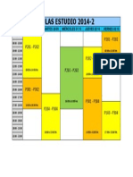 Aulas Para Estudio 2014-2(Semana Del 29 Set)