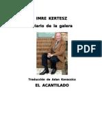 Imre Kertész-Diario de La Galera