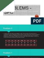 Problems - SPC