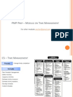 PMP PMI Module on Time Management
