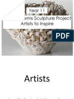 week 7 and 8 powerpoint for weebly of ceramic artists to inspire