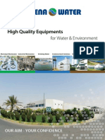 High Quality Equipments for Water & Environment