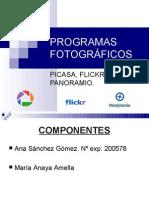 Presentación programas fotográficos.