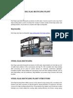 Steel Slag Recycling