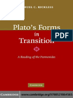 0521864569 - Samuel C. Rickless - Plato's Forms in Transition~ A Reading of the Parmenides [2006]