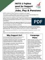 UNITE @ Fujitsu Appeal for Support