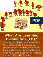 Presentation on Learning Disabilities