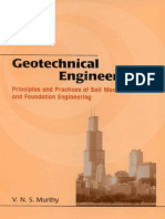 Principles and Practices of Soil Mechanics and Foundation Engineering by v N S Murthy