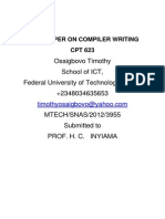 Compiler Writing