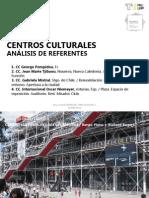 SESIÓN 06 Referencias Centros Culturales