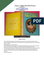 Refik Halid Karay - Nilgun Cilt-1 Turk Prensesi - CepSitesi.net