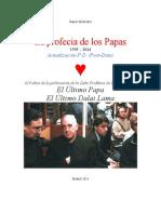 Profecia de los Papas- Actualizada