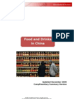 China Food and Drinks Industry Market Report