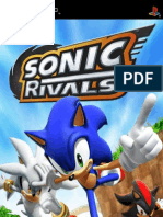 Sonic Rivals - Manual - PSP