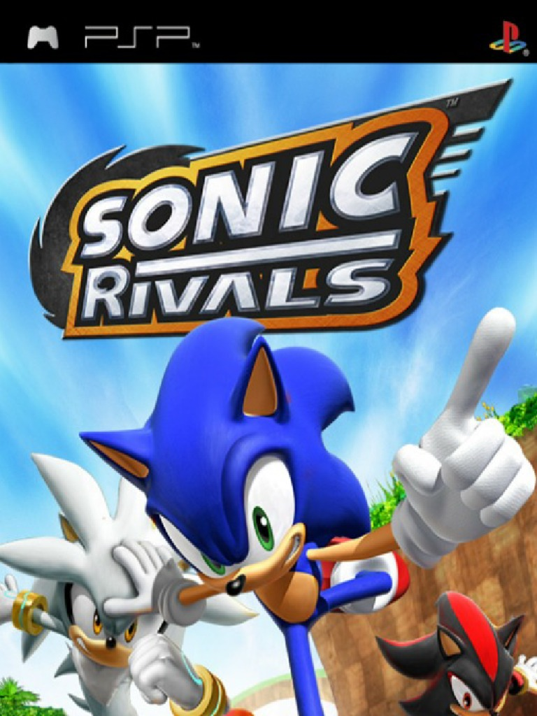 Sonic Rivals Manual Psp Play Station Leisure Free 30 Day