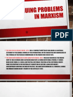 Continuing Problems in Marxism