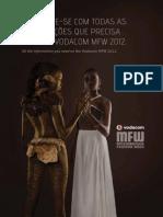 Vodacom MFW 2012 - Guia de Bolso