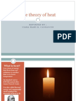The Theory of Heat reporting