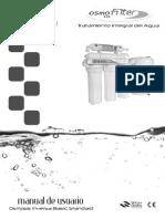 Manual Osmosis 5 Etapas Standard