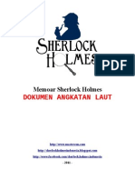 Sherlock Holmes - Dokumen Angkatan Laut