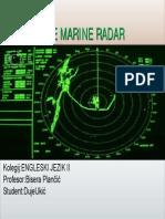 2-7 the Marine Radar