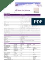 Antenna Data Sheet